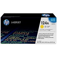 HP 124A Yellow Laser Toner Cartridge