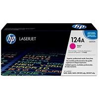 HP 124A Magenta Laser Toner Cartridge