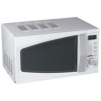 5 Star Microwave Oven, 800W, 20 Litre, White