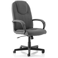 Trexus Managers Armchair - Charcoal