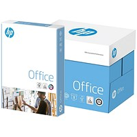 HP A4 Office Paper, White, 80gsm, Ream-Wrapped, Box (5 x 500 Sheets)