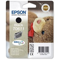 Epson T0611 Black Inkjet Cartridge