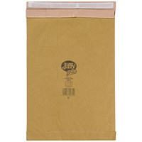 Jiffy No.6 Padded Bag Envelopes, 295x458mm, Brown, Pack of 50
