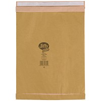 Jiffy No.7 Padded Bag Envelopes, 341x483mm, Brown, Pack of 50