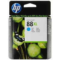 HP 88XL High Yield Cyan Ink Cartridge