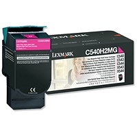 Lexmark C544X1MG High Yield Magenta Laser Toner Cartridge