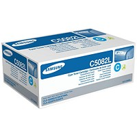 Samsung CLT-C5082L High Yield Cyan Laser Toner Cartridge