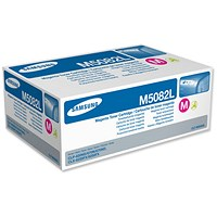 Samsung CLT-M5082L High Yield Magenta Laser Toner Cartridge