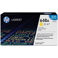 HP 648A Yellow Laser Toner Cartridge