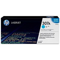 HP 307A Cyan Laser Toner Cartridge