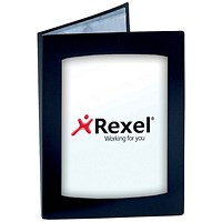 Rexel Clearview Display Book, A3, 24 Pockets, Black