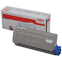Oki 44318605 Yellow Laser Toner Cartridge