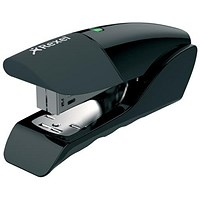 Rexel Gazelle Half Strip Stapler - Metallic Black