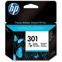 HP 301 Colour Ink Cartridge