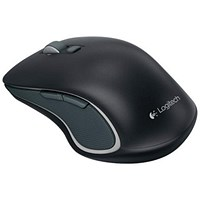 Logitech M560 Wireless Mouse, Optical, Bluetooth with USB, Nano-Receiver, 2.4GHz