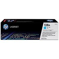 HP 128A Cyan Laser Toner Cartridge
