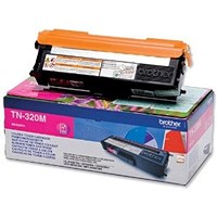 Brother TN320M Magenta Laser Toner Cartridge