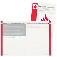 IVG Fire Incidence and Prevention Log Book A4