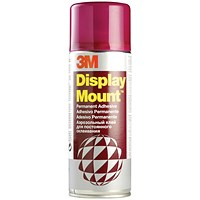 3M DisplayMount Adhesive Spray Can - 400ml