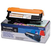 Brother TN328BK Black Laser Toner Cartridge