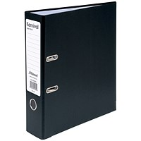 Rexel Karnival A4 Lever Arch Files, Black, Pack of 10