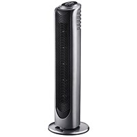 Tower Fan, Remote Control, H710mm, Silver