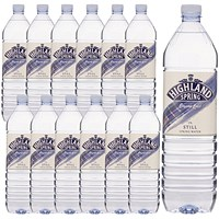 Highland Spring Still Mineral Water - 12 x 1.5 Litre Bottles