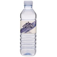Highland Spring Still Mineral Water - 24 x 500ml Plastic Bottles