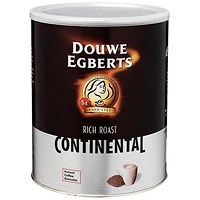 Douwe Egberts Continental Rich Roast Coffee - 750g