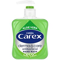 Carex Liquid Soap Handwash, Aloe Vera, 250ml