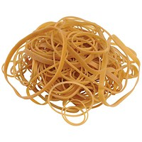 5 Star Rubber Bands, Assorted Sizes, 454g Bag