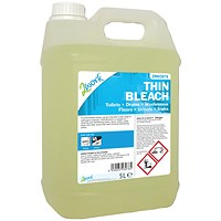 2Work Thin Bleach 5 Litre