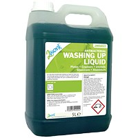 2Work Antibacterial Washing Up Liquid 5 Litre