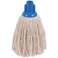 2Work Twine Rough Socket Mop 12oz Blue (Pack of 10) 101851B