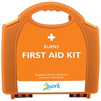 2Work Burns First Aid Kit Small