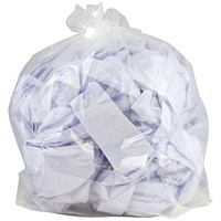 2Work Polythene Bags Clear (Pack of 250)