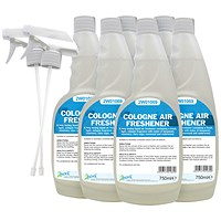 2Work Cologne Air Freshener 750ml (Pack of 6)