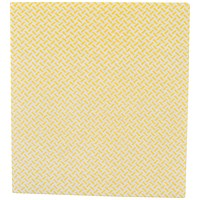 2Work Med Weight Cloth 380x400mm Yellow (Pack of 5) 103179Y