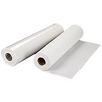 2Work 2-Ply Hygiene Roll 500mm x 40m White (Pack of 9) 2W70623