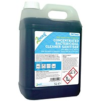 2Work Concentrated Bactericidal Cleaner Sanitiser - 5 Litre