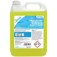 2Work Fragrant Surface Sanitiser - 5 Litre
