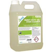 2Work Heavy Duty Gel Oven Cleaner Liquid Gel 5 Litre