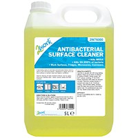 2Work Antibacterial Surface Cleaner 5 Litre Bulk Bottle