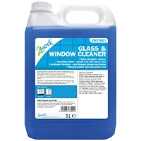 2Work Glass and Window Cleaner 5 Litre Bulk Bottle