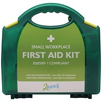 2Work BSI Compliant First Aid Kit Small