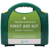 2Work BSI Compliant First Aid Kit Medium