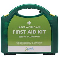 2Work BSI Compliant First Aid Kit Large