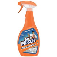 Mr Muscle 5 in 1 Bathroom Cleaner, Spray Bottle, 500ml