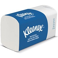 Kleenex Ultra Hand Towels - 15 Sleeves of 124 Towels