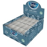 Tetley Earl Grey Tea Bags, String and Tag, Box of 100